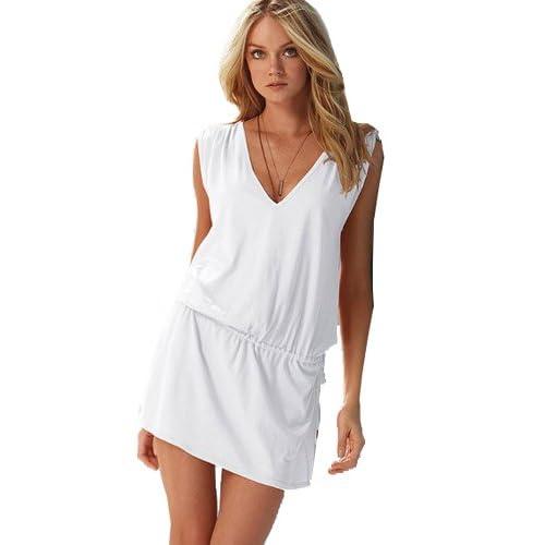 Women`s Cover Up Sexy Beach Wear Swimwear Bikini Bikini Summer Dress