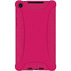 Amzer 96138 Silicone Skin Jelly Case - Hot Pink for Asus New Nexus 7, Google New Nexus 7