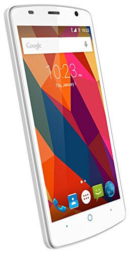 "ZTE Blade L5 Plus - Smartphone libre de 5"" (3G, MediaTek MTK6580, 1 GB de RAM, almacenamiento interno de 8 GB, Bluetooth, WiFi, Android), color blanco"
