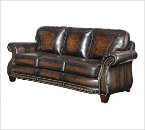 Broyhill Stetson Premium Leather Sofa