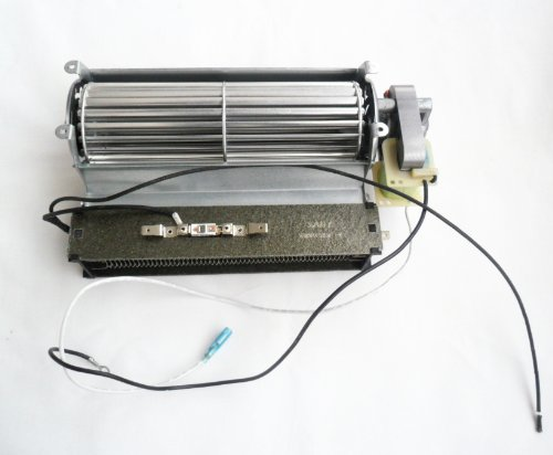 Replacement Fireplace Fan Blower With Heating Element For