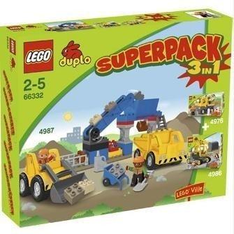 LEGO Duplo 66332 - Baustelle Superpack 3in1 -