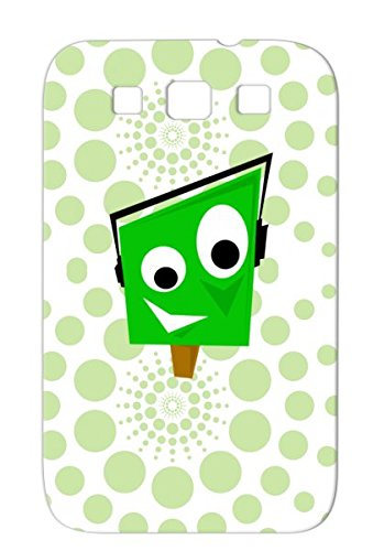 Tpu Greeny Black Rock Brown Earphones Characters Music Green Miscellaneous Music Tags Scratch-Free Case For Sumsang Galaxy S3