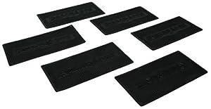 Highland (0561200) Ramparts Ramp Mats, Black - Set of 6