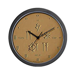 Time Flies Sumerian/Latin Wall Clock