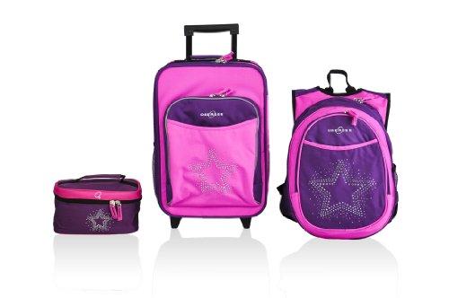 obersee-little-kids-luggage-set-bling-rhinestone-star