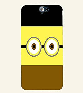 PRINTVISA Minion Funny Case Cover for HTC One A9