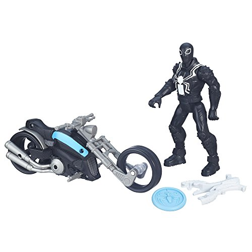 Ultimate Spider-Man vs. The Sinister Six: Agent Venom with Symbiote Cycle