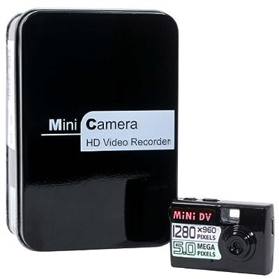 【極小サイズ&モーションセンサー搭載】 デジタルミニカメラ IPT-MINI500 [35846]