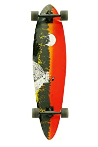 Quest 2012 Classic Longboard Skateboard (40-Inch) from Made in Mars