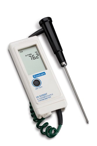 Hanna Instruments HI 935007N Waterproof Thermocouple Thermometer with Direct K-Type Probe
