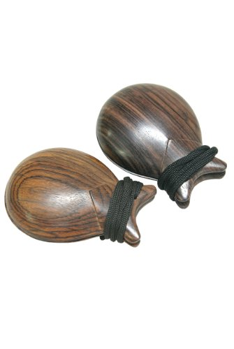 """Castanets, 2 5/8"""", Rosewood, Pair"""