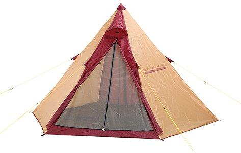 バンドック ティピー型 ワンポール テント