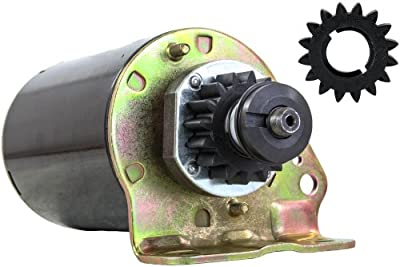 New Starter Motor Fits John Deere Tractor 111 111h L118 L120 With Free Gear