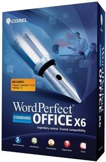 WORDPERFECT OFFICE X6 STANDARD EN MB (SOFTWARE