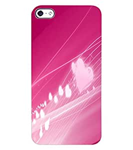 ColourCraft Love Design Back Case Cover for APPLE IPHONE 4