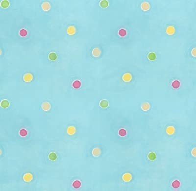 Hoopla Dot Spot Dotty Polkadot Childrens Bedroom 10m Wallpaper Roll Decor Art from DECORLINE