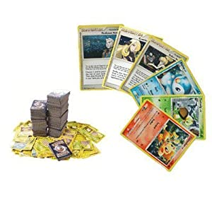 100 Assorted Pokemon Trading Cards with Bonus 6 Free Holo Foils by Pokemon USA Nintendo