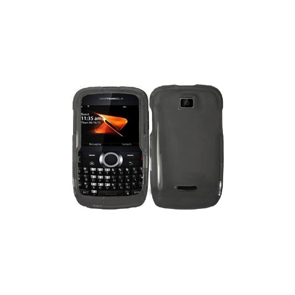 Smoke Hard Case Cover for Motorola Theory WX430 Cell Phones & Accessories