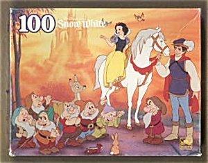 Disney Snow White Movie Scene 100 Piece Puzzle