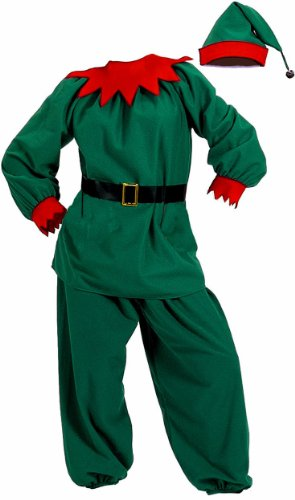 Halco Men's Velour Elf Costumes