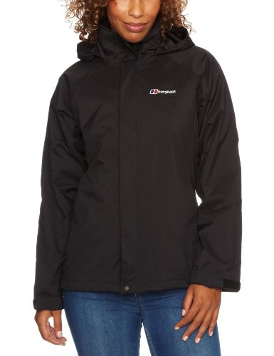 Berghaus Calisto Shell Women's Jacket - Black/Black, Size 12