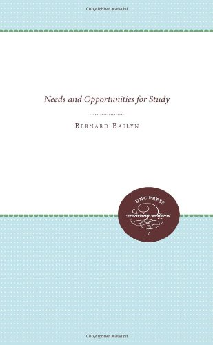 Education in the Forming of American Society: Needs and...