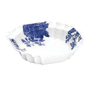 Paula Deen Signature Dinnerware Tatnall Street 10-1/2-Inch Ornate Serving Bowl, Bluebell