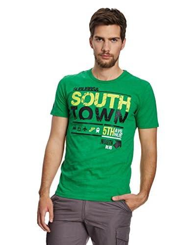4F T-Shirt Manica Corta [Verde Medio]