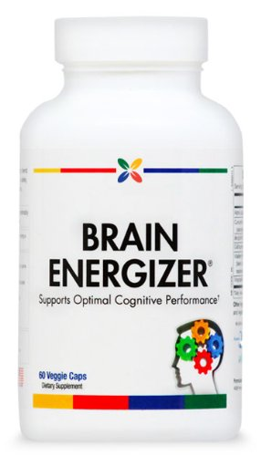 Brain Energizer® Memory Support Formula With Coq10, Dha, Curcumin & More | 60 Veggie Caps. Made In The Usa (3 Pack ($31.95 Per Bottle))