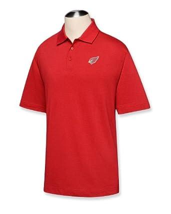 NFL Phoenix Cardinals Mens B and T DryTec Championship Polo Shirt by Cutter & Buck