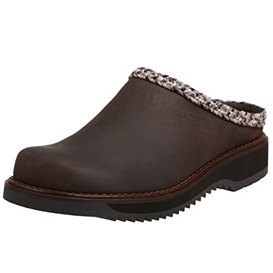 Simple - New Original Clog - Leather - Men's (Gaucho 15)