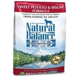 Limited Ingredient Diets Sweet Potato and Bison Dry Dog Food Size: 28-lb bag