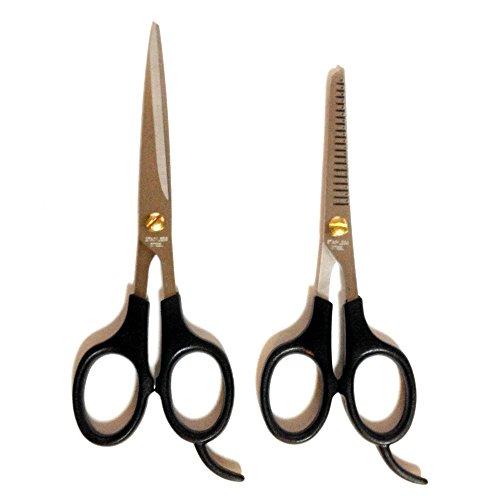 散髪用ハサミ + スキハサミ 2本セット
