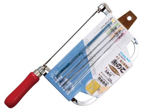 ストロングツール(Strong TooL) 木工・金工兼用型 糸のこ 鋸刃5本付 01270