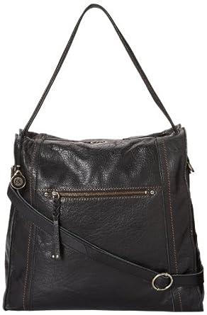 The Sak Mirada Tote Shoulder Bag, Black, One Size