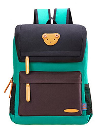 Lightweight Polyester Patterns Back to School Backpacks Small Black
