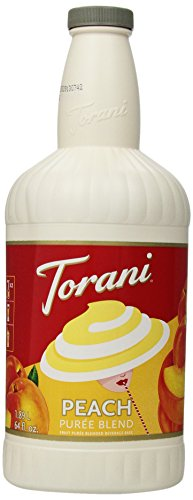 Torani Puree Blend, Peach, 64 Ounce (Pack Of 2) front-307196