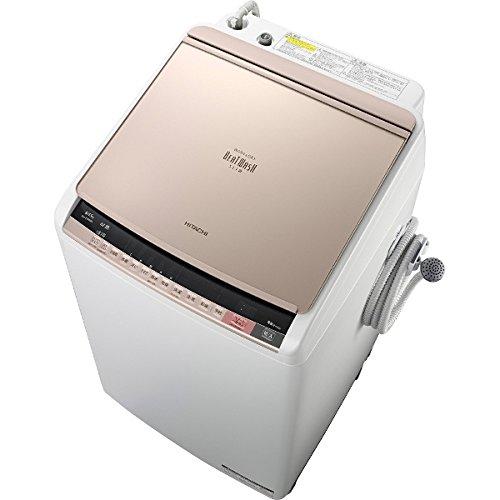 日立 8.0kg 洗濯乾燥機 シャンパンHITACHI ビートウォッシュ BW-DV80A-N