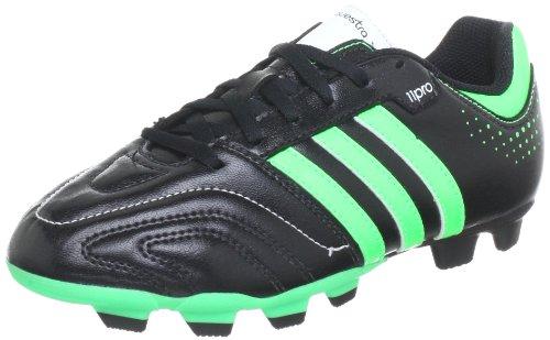 Adidas Performance-11Questra TRX FG J Scarpe da calcio, Nero (Black - Schwarz (BLACK1/GRNZE)), 38 EU