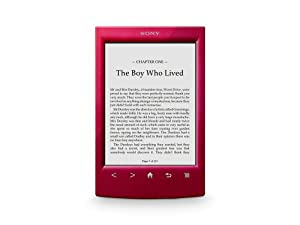 SONY READER 6 ROJO