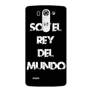 King Of The World Back Case Cover for LG G3 Beat