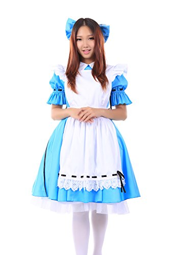 "WS_COS Vocaloid Family ""Alice in Wonderland"" Hatsune Miku Outfit V6 Set M"