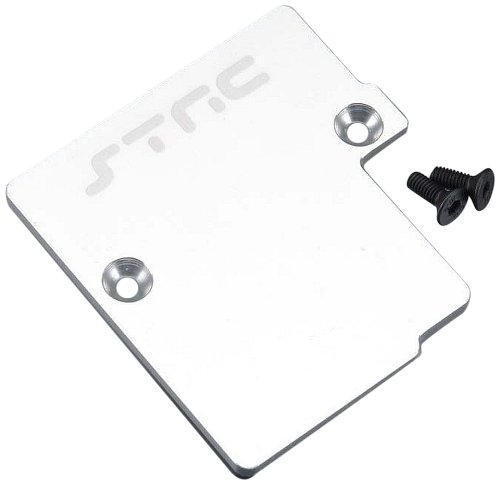 ST Racing Concepts ST6877S Aluminum Electronics Mounting Plate for Slash 4 x 4, Silver