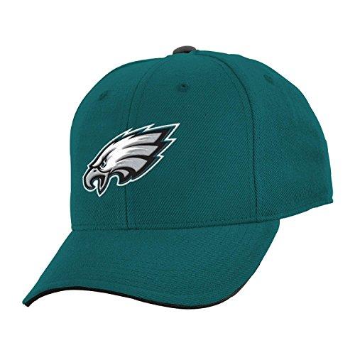 nfl-philadelphia-eagles-boys-8-20-basic-structured-adjustable-cap-one-size-jade