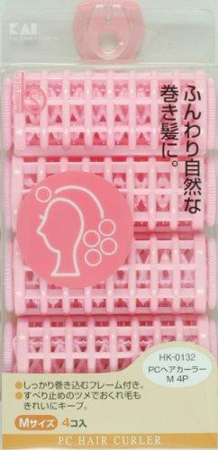貝印 PCヘアカーラー M HKー0132 4P
