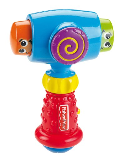 Fisher-Price Brilliant Basics Pound 'n Giggle Hammer - 1