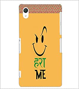 PrintDhaba Funny Image D-4502 Back Case Cover for SONY XPERIA Z3 (Multi-Coloured)