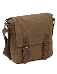 Pure Cotton Canvas Fisherman Bag