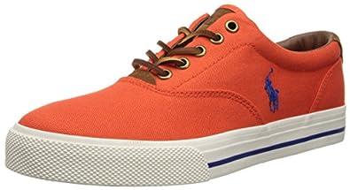 Polo Ralph Lauren Men's Vaughn Sneaker, Navy, 7 D US